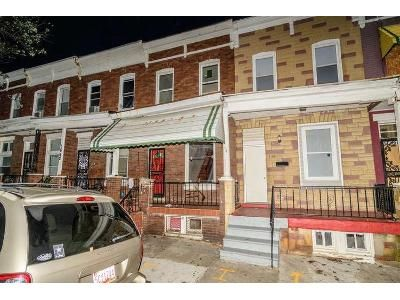 3 Bed 1 Bath Foreclosure Property in Baltimore, MD 21213 - Normal Ave