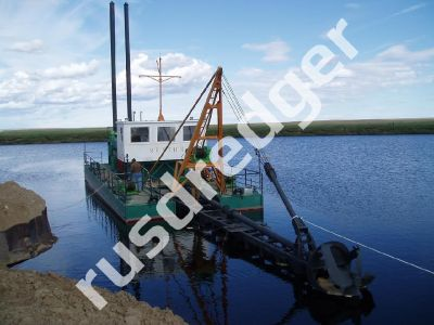 Dredger 1400by URAL HYDROMECHANICAL PLANT, CJSC