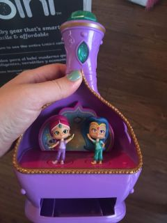 Shimmer and shine singing toy.