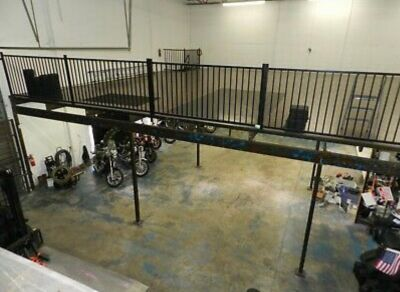 2,120 Mezzanine in excellent condition with staircase and loading gate in a Hollywood. Liquidation Sale