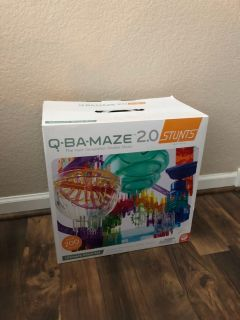 Q-BA-MAZE 2.0 Ultimate Stunt Set - Over 200 Pieces - Like New Condition