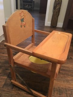 1950 POTTY CHAIR