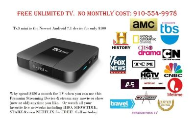 Tired of paying monthly TV Costs? Call, Text or Message me for Free Premium TV!