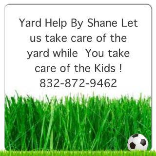 Yard Help By Shane