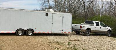 2002 28 Enclosed trailer