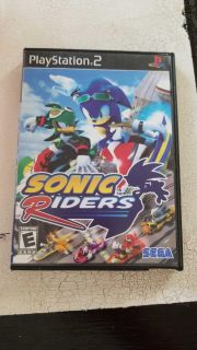 PS2 Sonic Riders Game