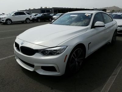 2016 BMW 4 Series 4dr Sdn 435i Gran Coupe (Alpine White)