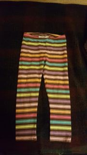 Size 5T, cotton and spandex leggings