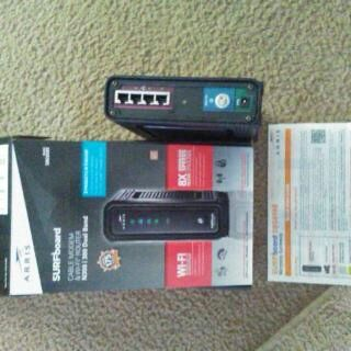 Modem/WiFi Router
