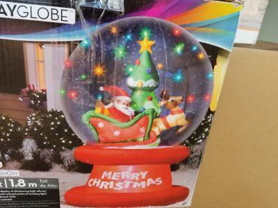 Christmas Items Yard Sale
