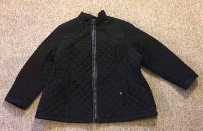 Women's Quilted Coat, Size 3X