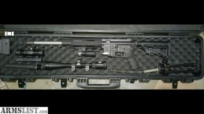 For Sale: Olympic arms 30R-SST Ar 15 in 7.62x39 with extras