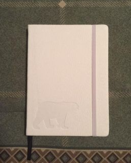 """*REDUCED* BRAND NEW UNOPENED (Red Co.) """"Beautiful White Polar Bear"""" Writing Journal $10.00"""
