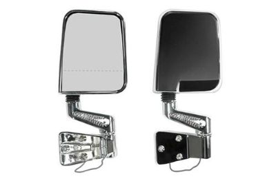 Sell Rugged Ridge 11016.01 - 87-95 Jeep Wrangler Chrome Side Mirrors motorcycle in Suwanee, Georgia, US, for US $189.99