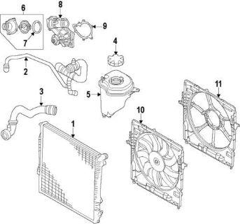 Sell BMW OEM 17427598740 Engine Cooling Fan Assembly/Radiator Fan Motor motorcycle in Wayzata, Minnesota, US, for US $649.59