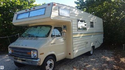 By Owner! CLASSIC 1977 Dodge Sportsman EXCEPTIONALLY clean VERY dependable, vintage RV