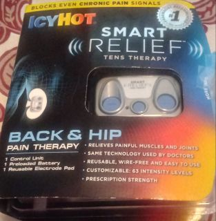 New Icy Ice Back n Hip TENS THERAPY