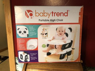 New Baby Trend Portable Panda High Chair