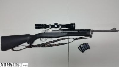 For Sale: Ruger Mini 14 Stainless