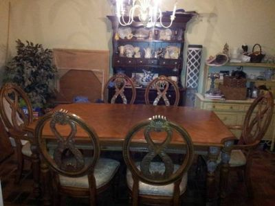 Beautiful Formal Oak Dining Room Set was $2000
