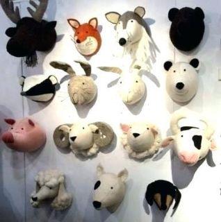 ISO: Stuffed animal head wall mounts