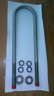 Stainless wood heater water heater coil