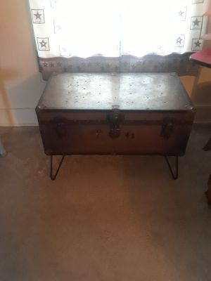 Antique Trunk Trunk Coffeetable