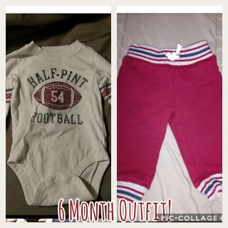 Carter's 6 months outfit