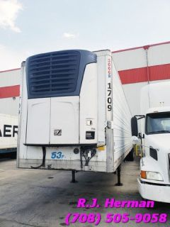 2008 Utility 53ft Refrigerated Trailers - (10) Available