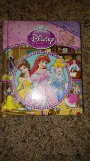 Disney princess hard page look and find