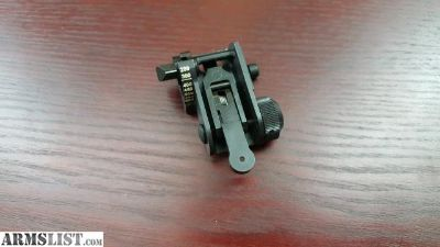 For Sale: MATECH - AR-15 USGI BACKUP IRON REAR SIGHT