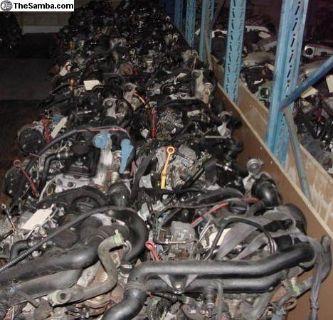 VW used engines: Diesel, TD, TDI, Transmissions