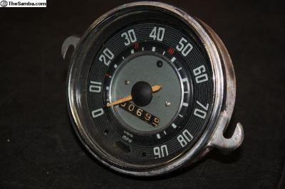 7 1963 1964 Speedometer Speedo July