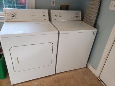 Kenmore high-capacity washer and dryer