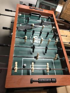 Luxury Deluxe MD sports foosball table