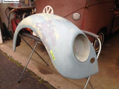 Original German Beetle Front Passenger Fender