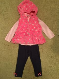Pink outfit with vest