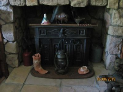 Antique Ben Franklin wood burning stove