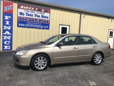 2007 Honda Accord EX-L (Gold)