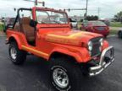 1981 Jeep CJ-5 Orange, 36K miles