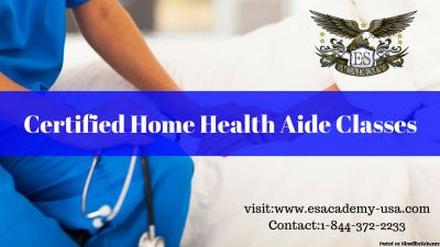 Certified Home Health Aide is just 3 weeks... Register with us today...