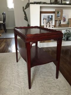 Gorgeous Wooden Side Table