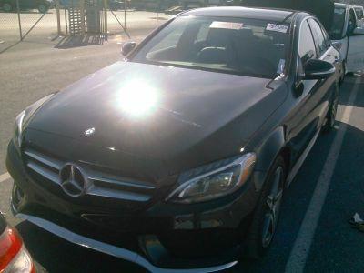 2015 Mercedes-Benz C-Class 4dr Sdn C300 Sport 4MATIC (Black)