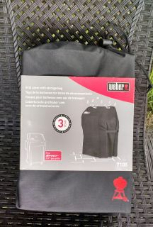 New in Storage Bag: Weber 7105 Premium Grill Cover For Spirit 200 Series Gas Grills ~ $30.