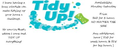 Tidy Up Cleaning Service's