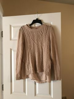 Tahoe sweater with attached shell top