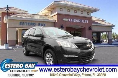 2015 Chevrolet Traverse LS (Tungsten Metallic)