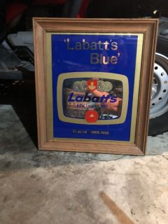 Labatt s Blue Beer Mirror
