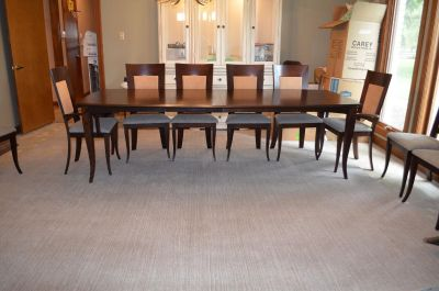 DINEC dining table and chairs