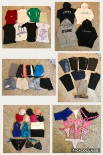 Big S/M Clothing Lot